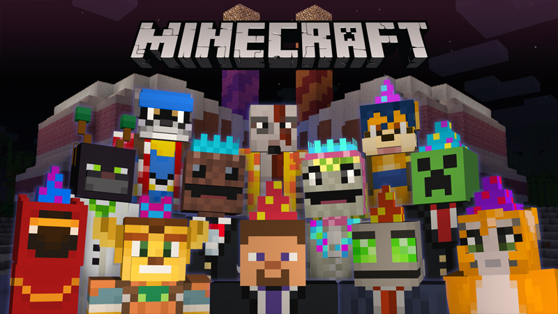 2nd Birthday Skin Pack  2015 on the Minecraft Marketplace by Minecraft