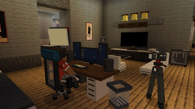 Gaming Furniture on the Minecraft Marketplace by Nitric Concepts