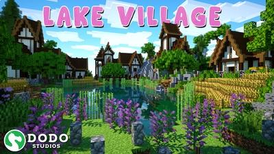 Lake Village on the Minecraft Marketplace by Dodo Studios