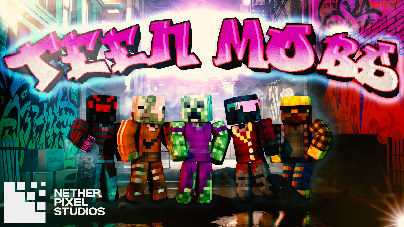 Teen Mobs on the Minecraft Marketplace by Netherpixel