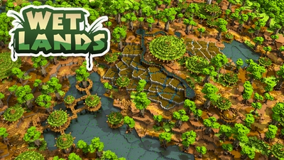 Wet Lands on the Minecraft Marketplace by Impulse