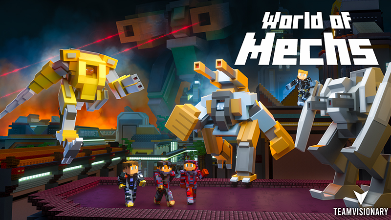 World of Mechs on the Minecraft Marketplace by Team Visionary