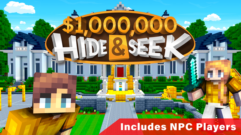 1000000 Hide  Seek on the Minecraft Marketplace by Pixels & Blocks