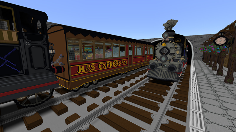 H&S Express on the Minecraft Marketplace by Team Phoenix Studio