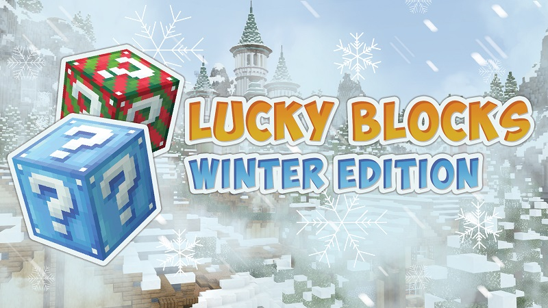 Lucky Blocks Winter Edition on the Minecraft Marketplace by BBB Studios