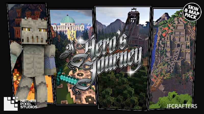 A Heros Journey  on the Minecraft Marketplace by Netherpixel