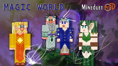 Magic World on the Minecraft Marketplace by Mineduet