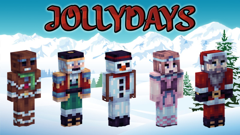 Jolly Days on the Minecraft Marketplace by Pixels & Blocks