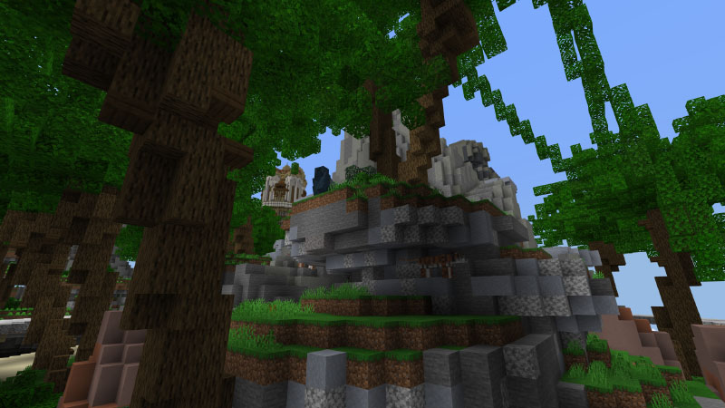 Sky Archipelago on the Minecraft Marketplace by Pixelusion