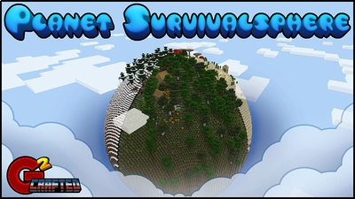 Planet Survivalsphere on the Minecraft Marketplace by G2Crafted