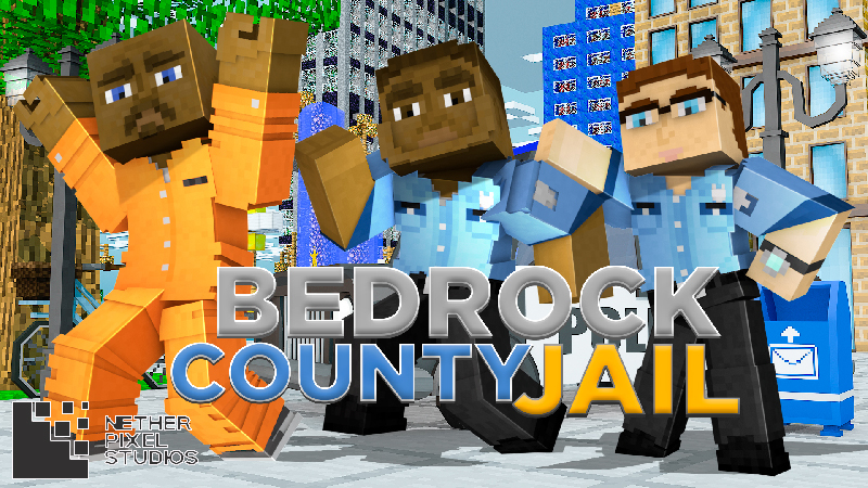 Bedrock County Jail on the Minecraft Marketplace by Netherpixel