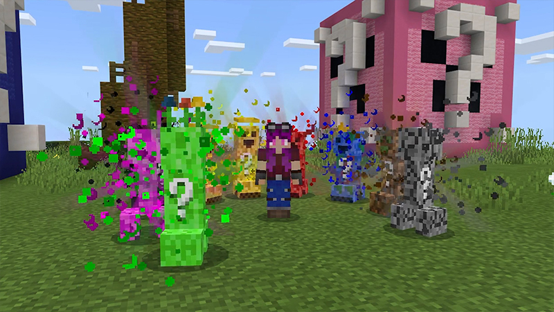 Lucky Creepers! on the Minecraft Marketplace by Volcano