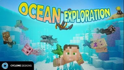 Ocean Exploration on the Minecraft Marketplace by Cyclone Designs