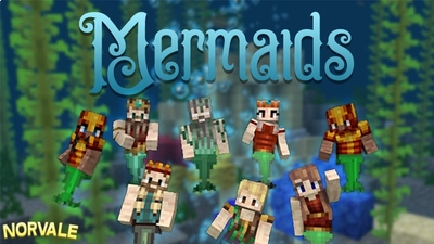 Mermaids on the Minecraft Marketplace by Norvale