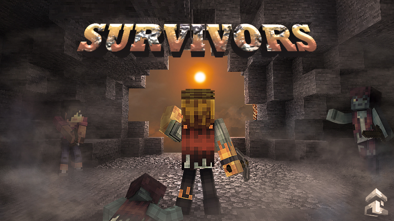 Survivors on the Minecraft Marketplace by Project Moonboot