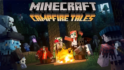 Campfire Tales Skin Pack on the Minecraft Marketplace by Minecraft