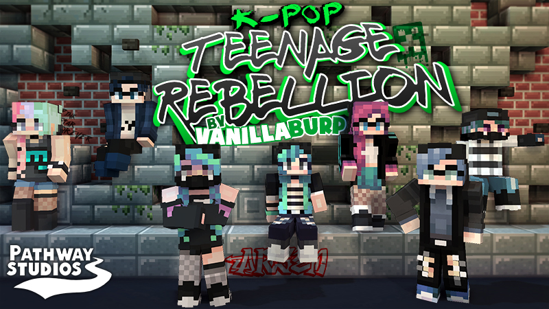 KPop Teenage Rebellion on the Minecraft Marketplace by Pathway Studios