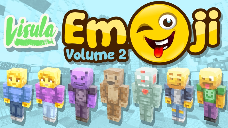 Emoji Skin Pack Vol 2 on the Minecraft Marketplace by Visula