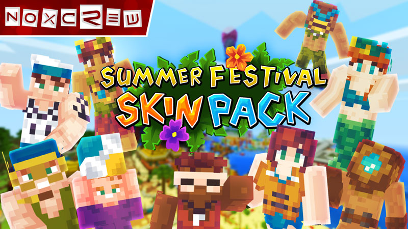 Minecraft Marketplace | Summer Festival Skin Pack