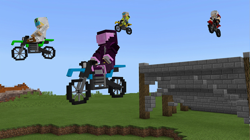 Extreme Motorsports Island on the Minecraft Marketplace by Project Moonboot
