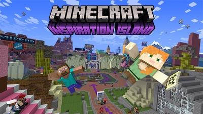 Inspiration Island on the Minecraft Marketplace by Minecraft