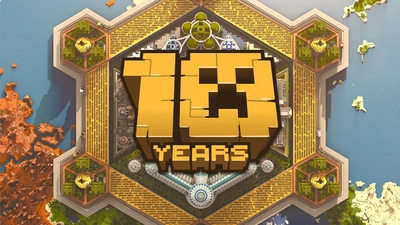 10 Years of Minecraft on the Minecraft Marketplace by Blockworks