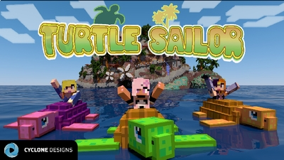 Turtle Sailor on the Minecraft Marketplace by Cyclone Designs