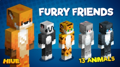 Furry Friends on the Minecraft Marketplace by The Hive