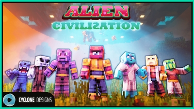 Alien Civilization on the Minecraft Marketplace by Cyclone Designs