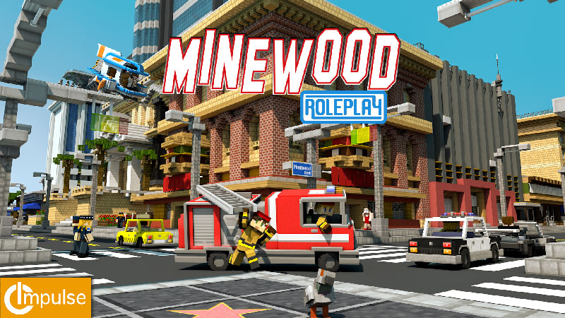 Minewood Roleplay on the Minecraft Marketplace by Impulse