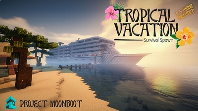 Tropical Vacation on the Minecraft Marketplace by Project Moonboot