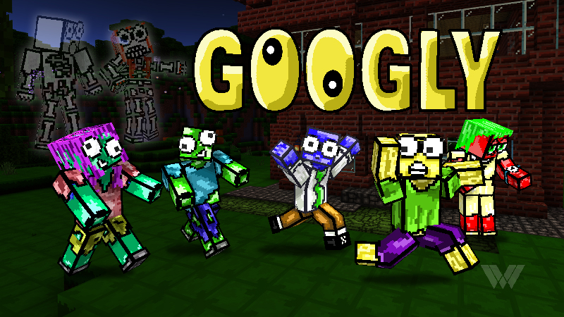 Googly on the Minecraft Marketplace by Wandering Wizards