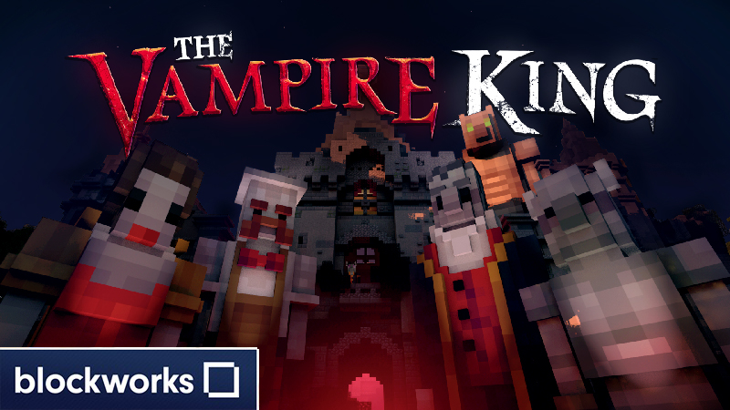 The Vampire King on the Minecraft Marketplace by Blockworks
