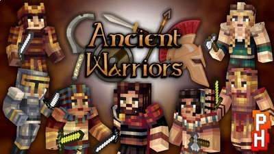 Ancient Warriors Skin Pack on the Minecraft Marketplace by PixelHeads