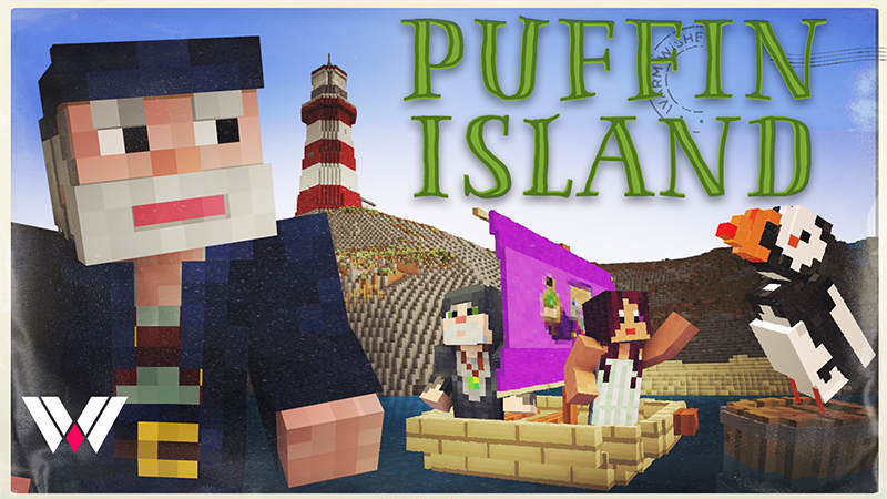 Puffin Island on the Minecraft Marketplace by Wandering Wizards