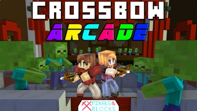 Crossbow Arcade on the Minecraft Marketplace by Pixels & Blocks