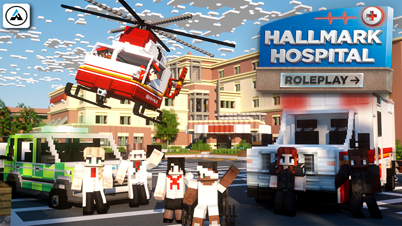 Hallmark Hospital  Roleplay on the Minecraft Marketplace by Aurrora