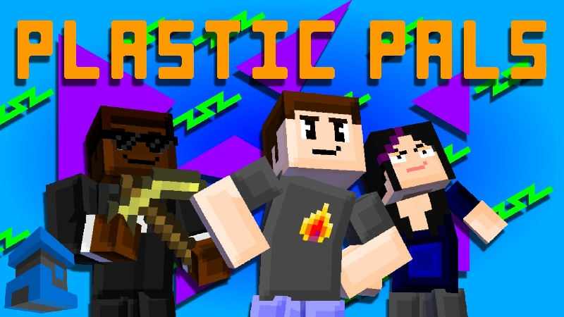 Plastic Pals on the Minecraft Marketplace by Project Moonboot