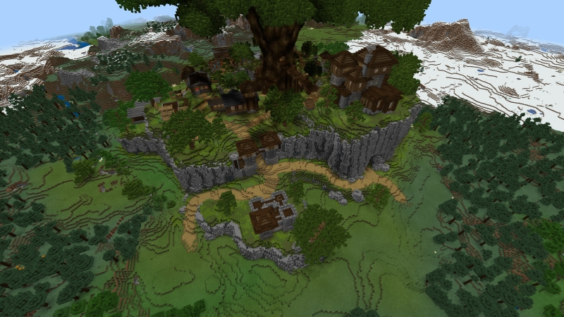 Treeville on the Minecraft Marketplace by Norvale