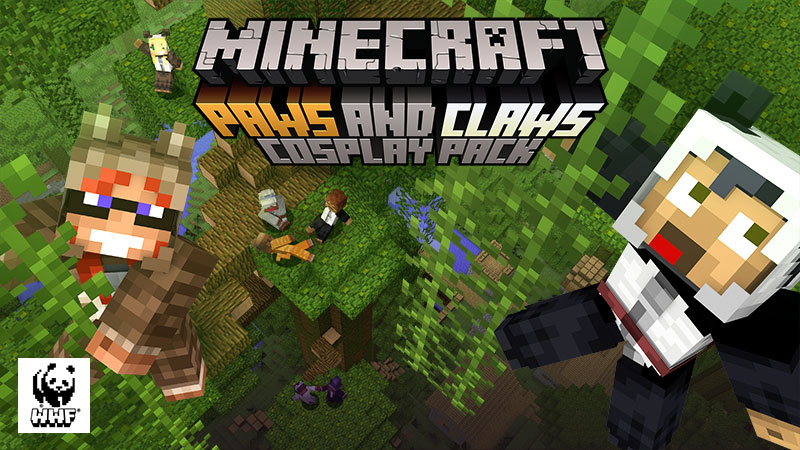 Paws and Claws Cosplay Pack on the Minecraft Marketplace by Minecraft