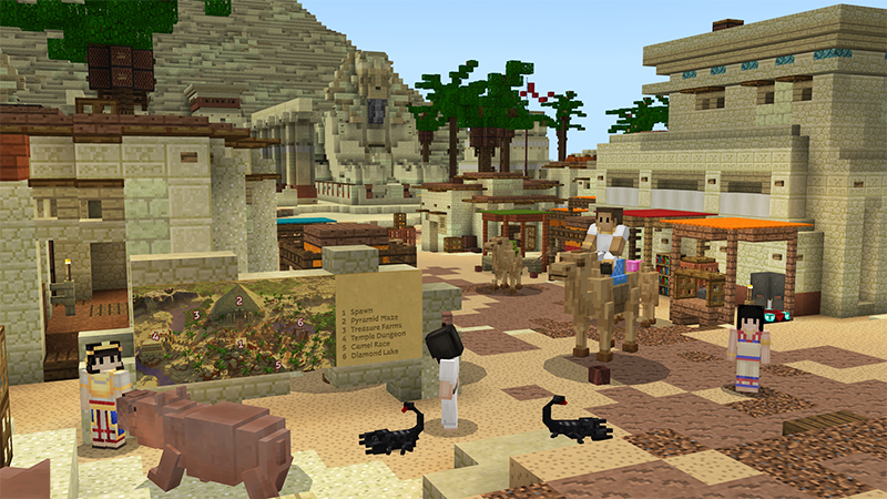 Egypt Empire - Adventure Spawn on the Minecraft Marketplace by InPvP