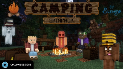 Camping Skin Pack on the Minecraft Marketplace by Cyclone Designs