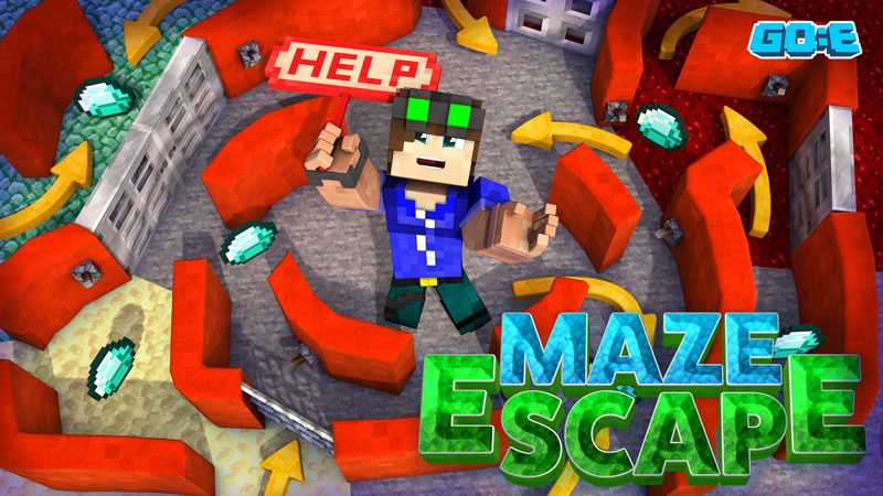 Maze Escape on the Minecraft Marketplace by GoE-Craft