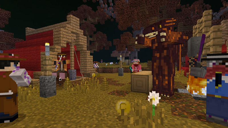 Cowboys vs Monsters on the Minecraft Marketplace by 57Digital
