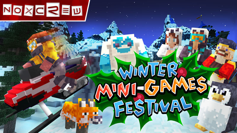 Winter MiniGames Festival on the Minecraft Marketplace by Noxcrew