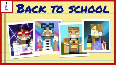 Back To School Pack on the Minecraft Marketplace by Imagiverse