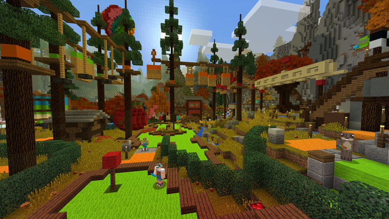 Autumn Mini-Games Festival on the Minecraft Marketplace by Noxcrew