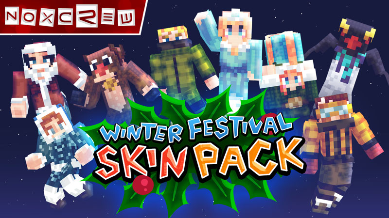 Winter Festival Skin Pack on the Minecraft Marketplace by Noxcrew