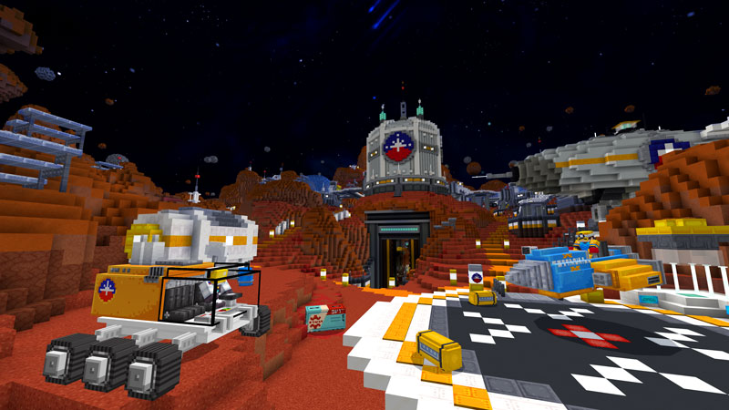 Spaceships & Aliens on the Minecraft Marketplace by Noxcrew