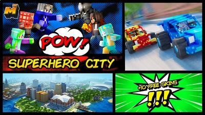 Superhero City on the Minecraft Marketplace by Mineplex